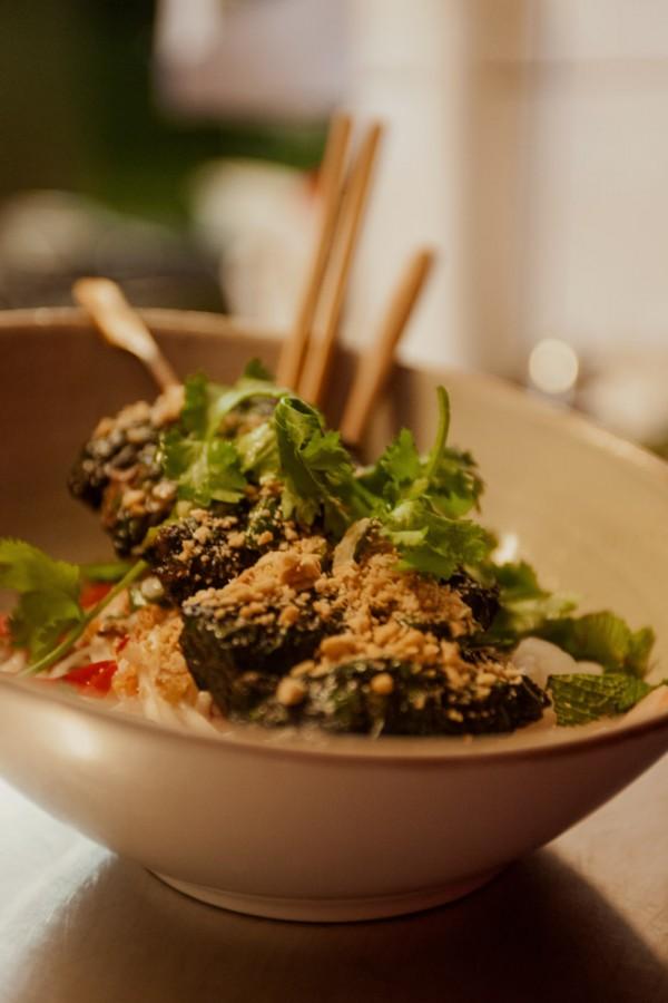 Vietnamesisches Rindfleisch – Bo La Lot
